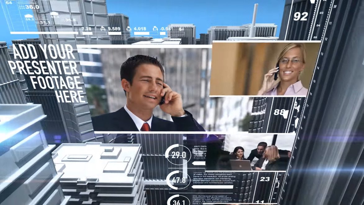 business studio news after effects template by bluefx