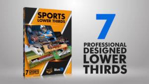 Sports Lower Thirds - BlueFx