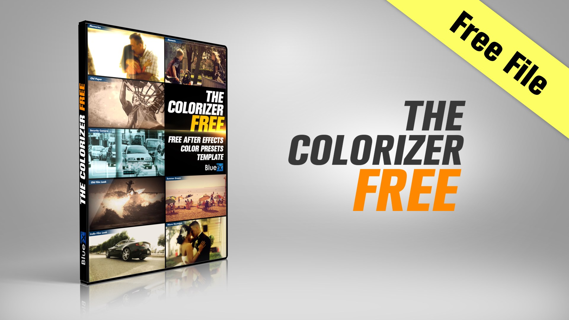 The Colorizer-FREE Sample - BlueFx
