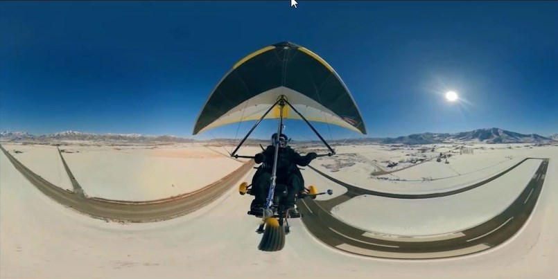 360-degree horizontal 180-degree vertical
