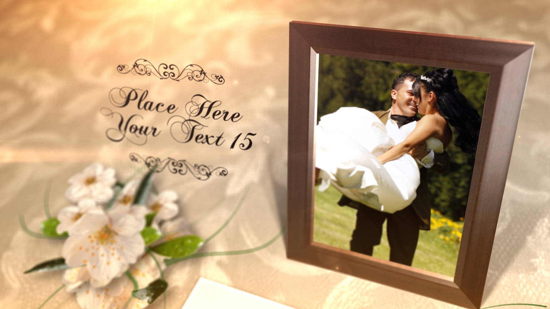 After Effects Wedding templates