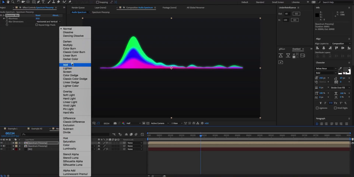 How-to-create-an-audio-spectrum-in-AE-13