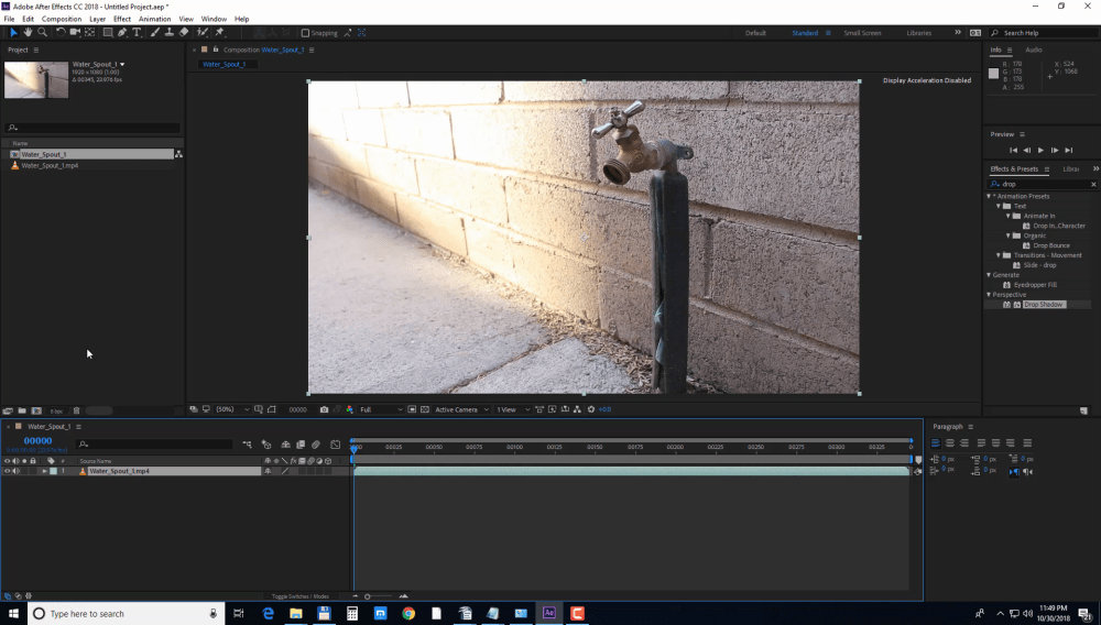 How To Stabilize Shaky Footage With Motion Tracking in After