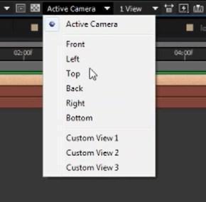 active camera change to custom view