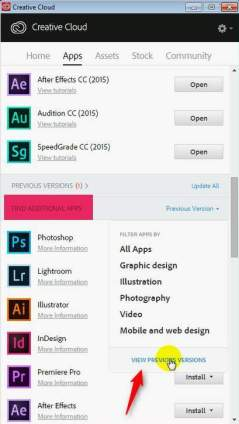 additional apps creative cloud
