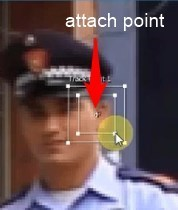 attach point