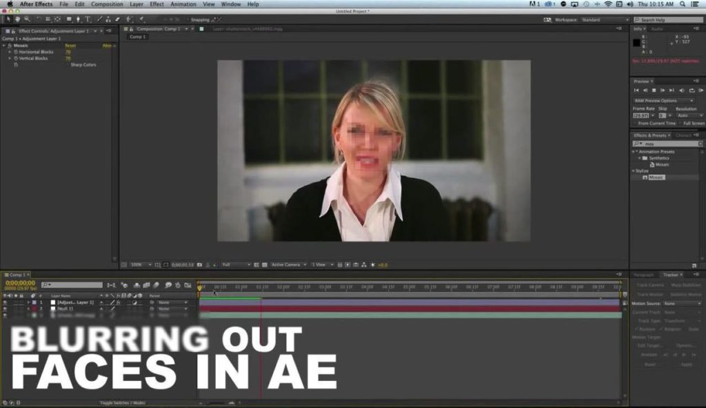 15 Steps for Blurring Out Faces In After Effects - BlueFx