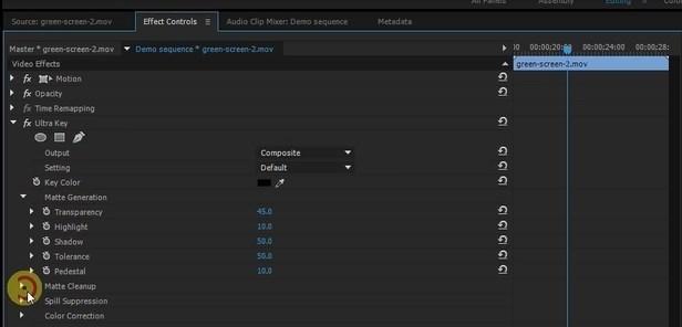 effect controls adobe premiere pro