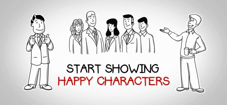 happy-characters