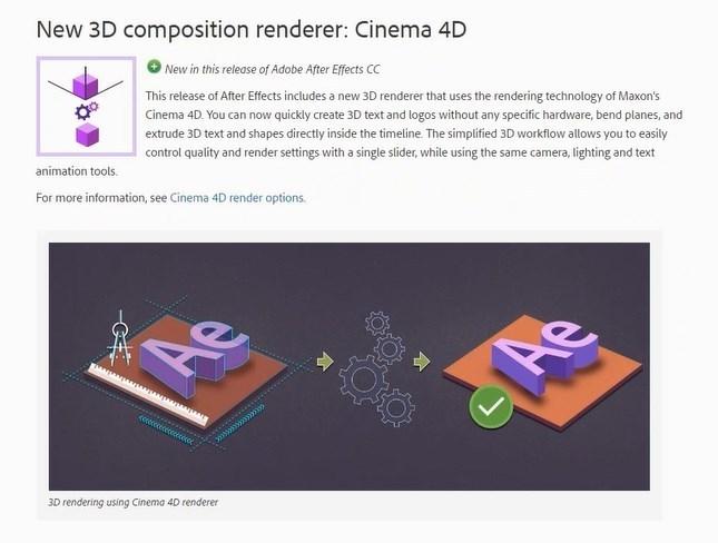 New 3D Composition Renderer Cinema 4D