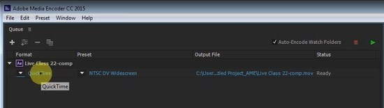 Codecs and video containers in Adobe Media Encoder - BlueFx