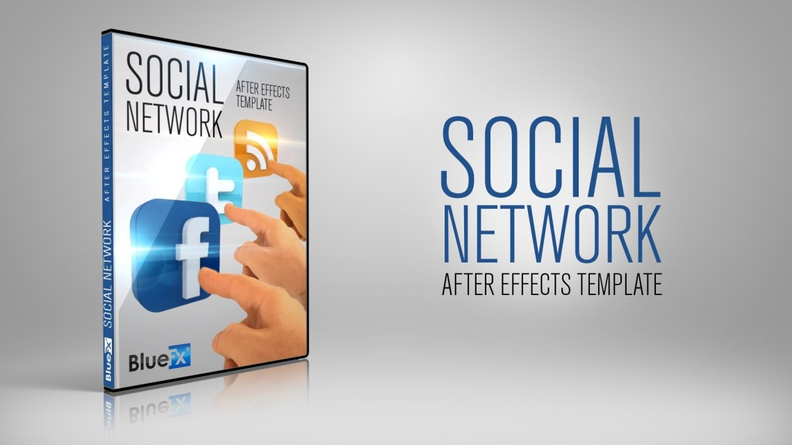 social-network-after-effects-template